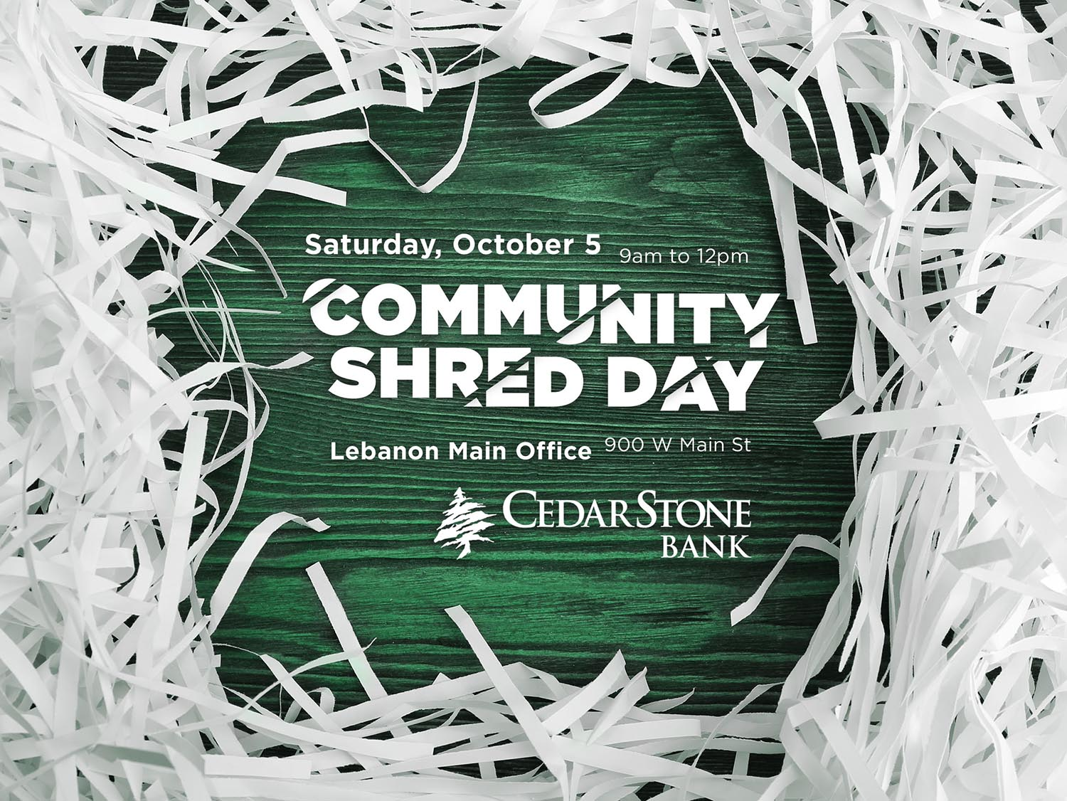 CSB Shred Day 2019 web