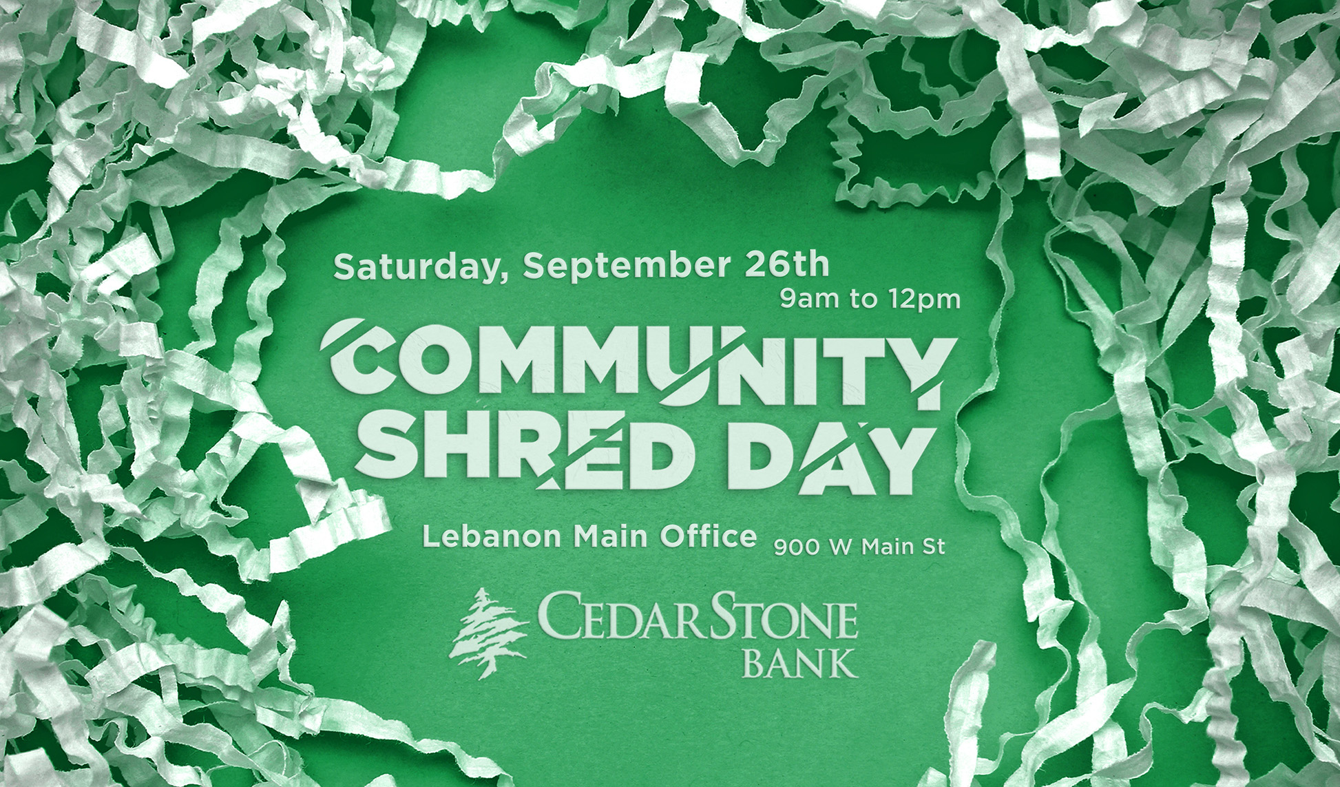 CSB Shred Day 2020 Wide