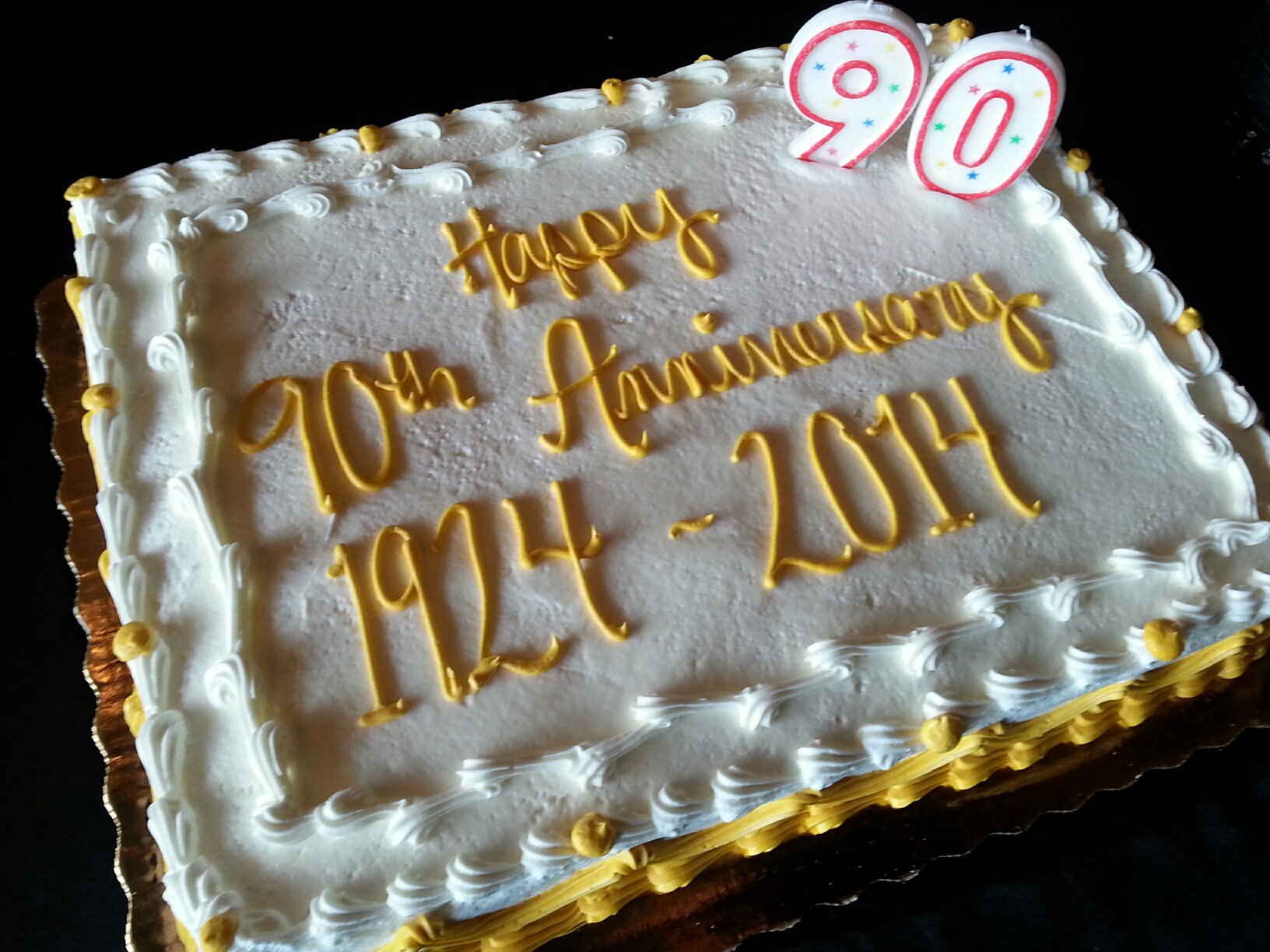 90th-anniversary-cake-lebanon-wilson-county-chamber-of-commerce