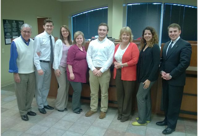 McGavoch Senior Justin Duncan completes Capstone Program Experience with Cedarstone Bank Donelson Branch