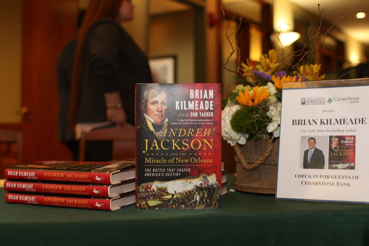 brian-kilmeade-book-signing-at-CedarStone-bank