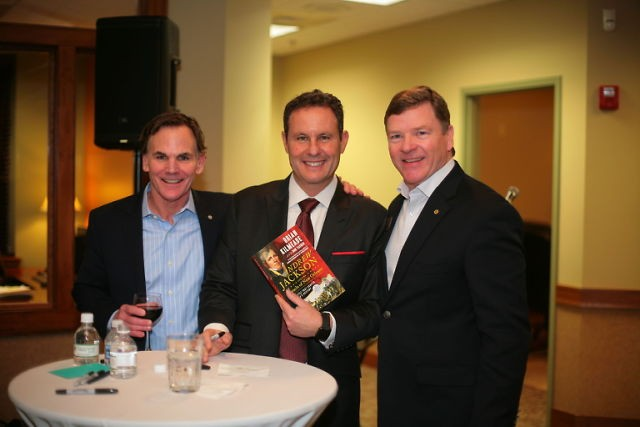 b2ap3 medium brian kilmeade book signing at CedarStone bank 1